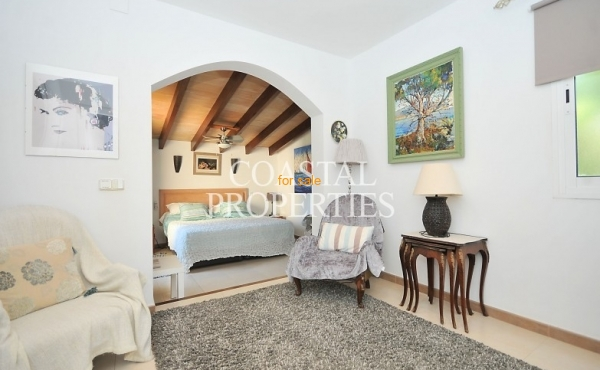 Open View in to the Master Bedroom