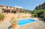 Semi-detached Village Property With Swimming For Sale S'Arraco, Mallorca, Spain