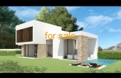 New Build Prestige Villa Anna in Residential Area of Moraira Spain